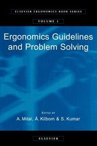 Book Ergonomics Guidelines And Problem Solving by A. Mital