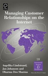 Book Managing Customer Relationships On The Internet by Dharma Deo Lindstrand