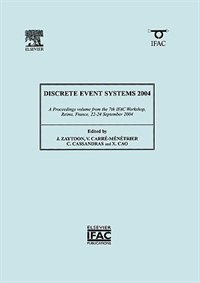 Book Discrete Event Systems 2004 by Verronique Carre-menetrier