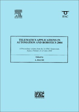 Book Telematics Applications In Automation And Robotics 2004 by Aarne Halme