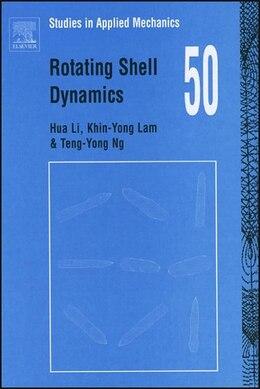Book Rotating Shell Dynamics by Hua Li
