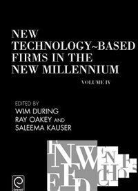 Book New Technology-based Firms In The New Millennium Iv by Seleema During