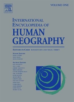 Book International Encyclopedia of Human Geography: A 12-volume Set by Nigel Thrift