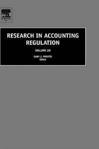 Book Research In Accounting Regulation by Gary Previts