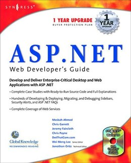 Book ASP.Net Web Developer's Guide by Syngress