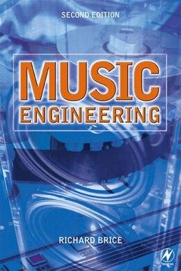 Book Music Engineering by Richard Brice