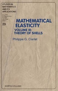 Book Theory of Shells by Philippe G. Ciarlet