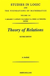 Book Theory of Relations by R. Fraisse