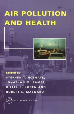 Book Air Pollution and Health by Stephen T. Holgate