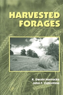 Book Harvested Forages by Rodney Dwain Horrocks