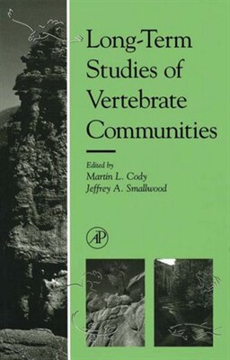 Book Long-Term Studies of Vertebrate Communities by Martin L. Cody