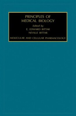 Book Molecular and Cellular Pharmacology by Edward Bittar