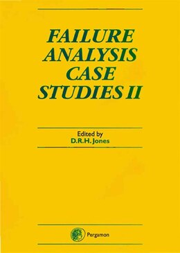 Book Failure Analysis Case Studies II by D.R.H. Jones