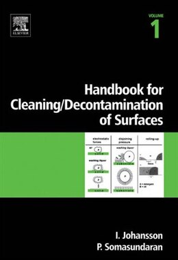 Book Handbook for cleaning/decontamination of surfaces by Ingegard Johansson