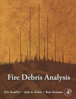 Book Fire Debris Analysis by Eric Stauffer