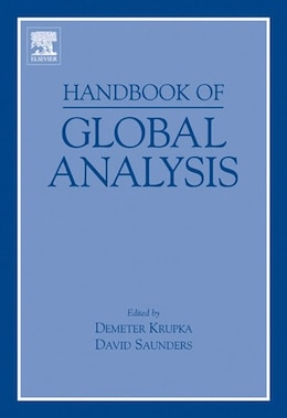 Book Handbook of Global Analysis by Demeter Krupka