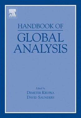 Book Handbook of Global Analysis by Demeter Krupka