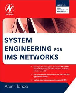 Book System Engineering for IMS Networks by Arun Handa