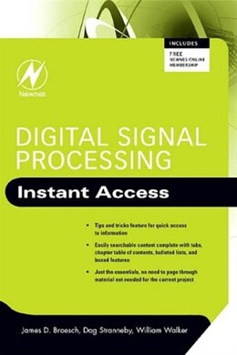 Book Digital Signal Processing: Instant Access by James D. Broesch