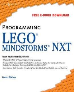 Book Programming Lego Mindstorms NXT by Owen Bishop
