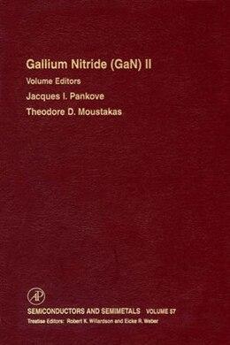 Book Gallium-Nitride (GaN) II by Eicke R. Weber