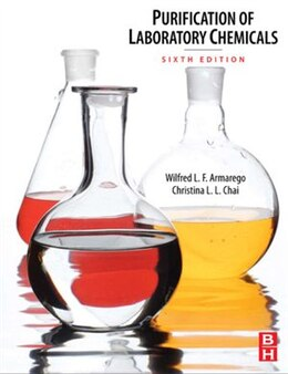 Book Purification of Laboratory Chemicals by W.L.F. Armarego