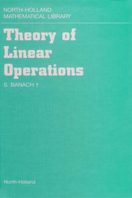 Book Theory of Linear Operations by S. Banach