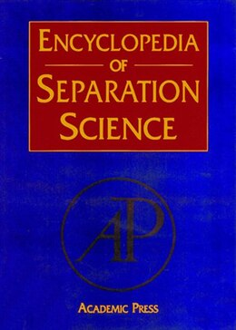 Book Encyclopedia of Separation Science, Ten-Volume Set by Colin F. Poole