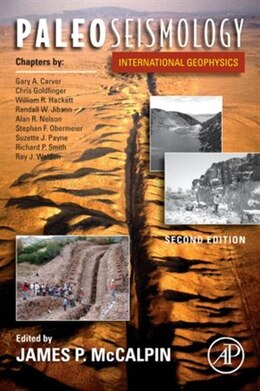 Book Paleoseismology by James P. McCalpin