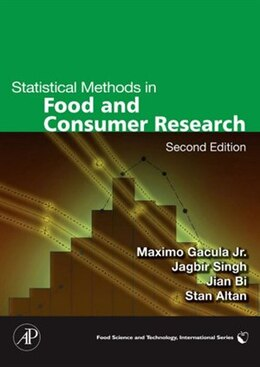Book Statistical Methods in Food and Consumer Research by Maximo C. Gacula, Jr.