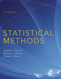 Book Statistical Methods by Rudolf J. Freund