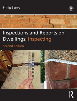 Book Inspections And Reports On Dwellings: Inspecting by Philip Santo