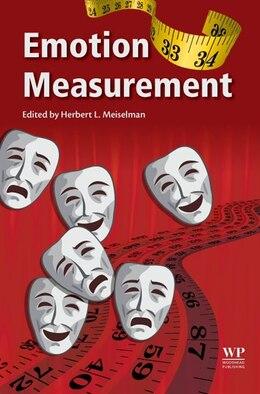 Book Emotion Measurement by Herbert L Meiselman