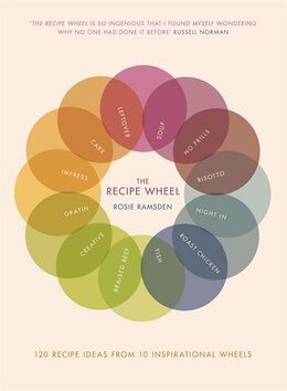 Book The Recipe Wheel: 120 Recipe Ideas From 10 Inspirational Wheels by Rosie Ramsden