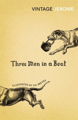 Book Three Men In A Boat by Jerome K. Jerome