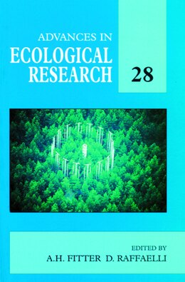 Book Advances in Ecological Research by Alastair H. Fitter