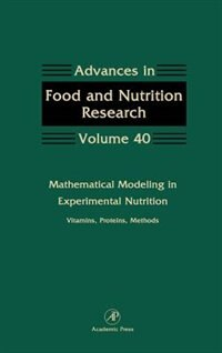 Book Mathematical Modeling in Experimental Nutrition: Vitamins, Proteins, Methods by Steve Taylor