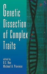 Book Genetic Dissection Of Complex Traits by D. C. Rao
