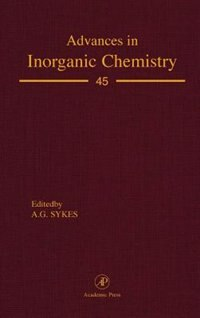 Book Advances in Inorganic Chemistry by Ag Sykes