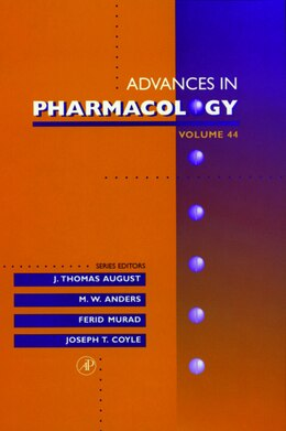 Book Advances In Pharmacology by J. Thomas August