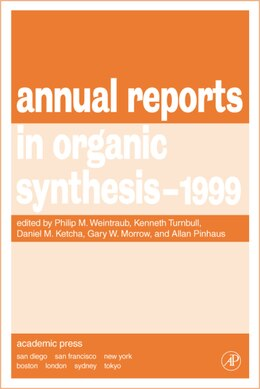 Book Annual Reports in Organic Synthesis 1999 by Philip M. Weintraub