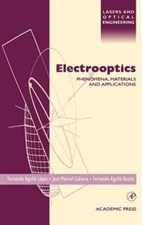 Book Electrooptics: Phenomena, Materials and Applications by Jose Manuel Cabrera