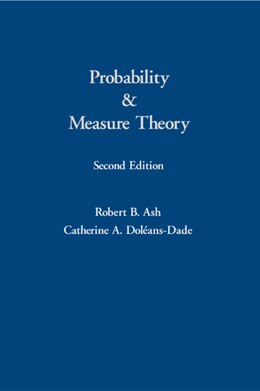 Book Probability and Measure Theory by Robert B. Ash