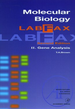 Book Molecular Biology LabFax: Gene Analysis by T. A. Brown