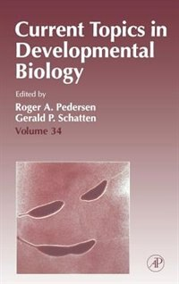 Book Current Topics in Developmental Biology by Roger A. Pedersen