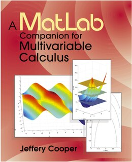 Book A Matlab Companion For Multivariable Calculus by Jeffery Cooper