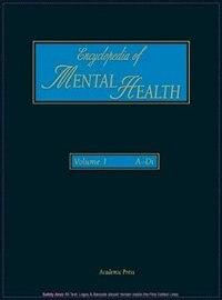 Encyclopedia of Mental Health: 1