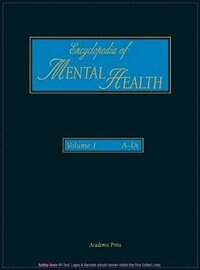 Encyclopedia of Mental Health: 1