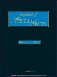 Book Encyclopedia of Mental Health: 2 by Gerard Meurant