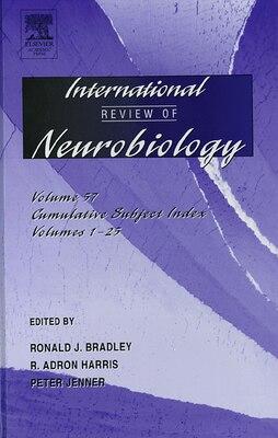 Book International Review Of Neurobiology by Ronald J. Bradley